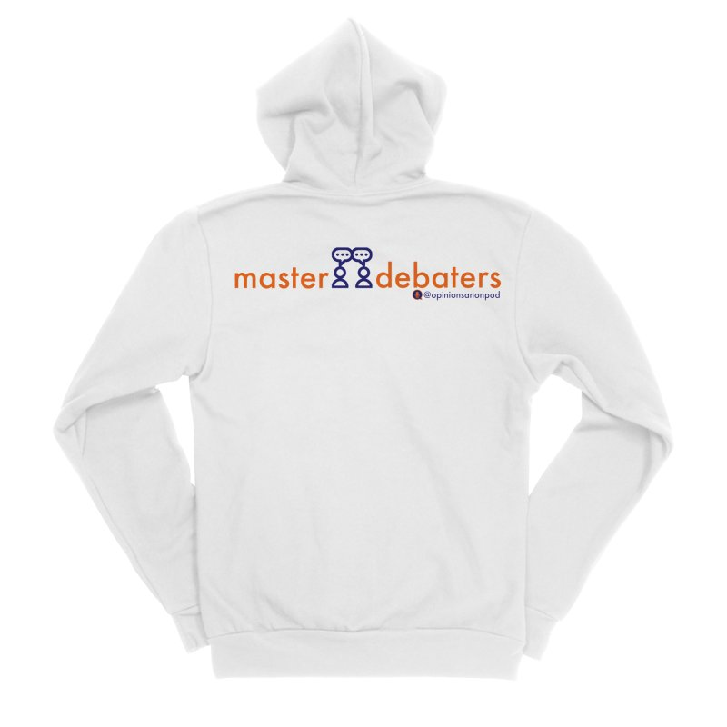 Master Debaters Men's Zip-Up Hoody by Opinions Anonymous