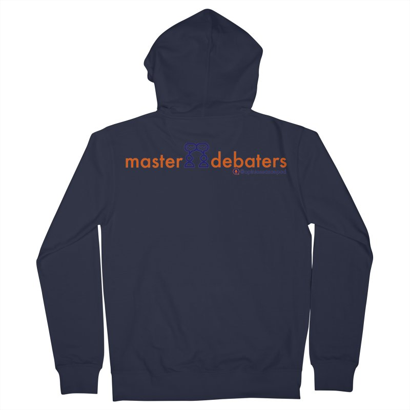 Master Debaters Women's Zip-Up Hoody by Opinions Anonymous