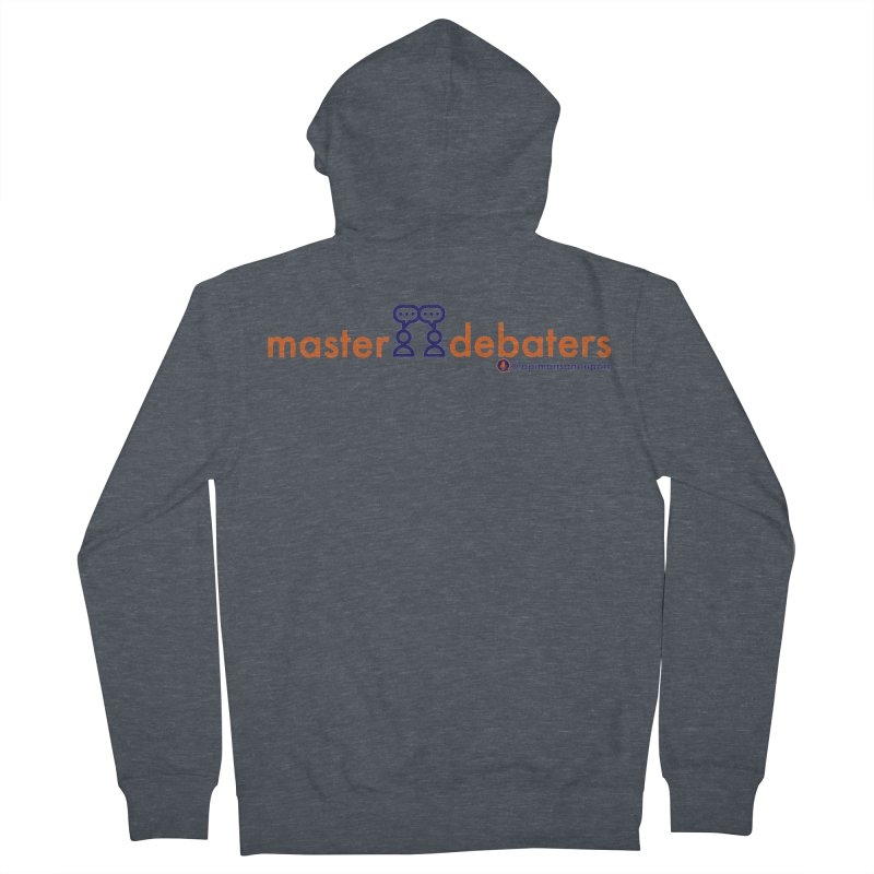 Master Debaters Men's French Terry Zip-Up Hoody by Opinions Anonymous