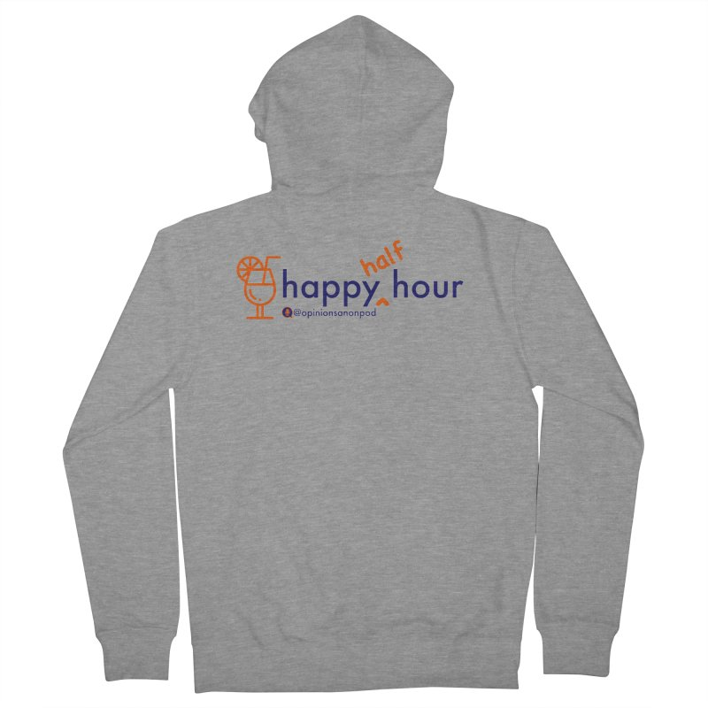 Happy Half Hour Men's French Terry Zip-Up Hoody by Opinions Anonymous