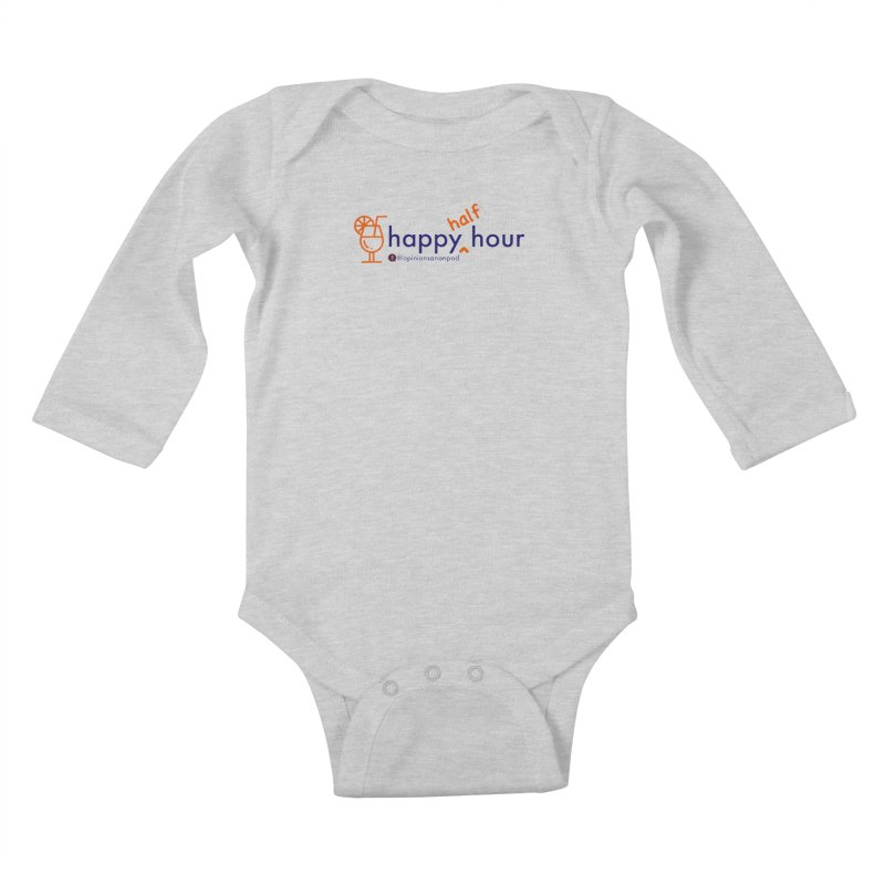 Happy Half Hour Kids Baby Longsleeve Bodysuit by Opinions Anonymous