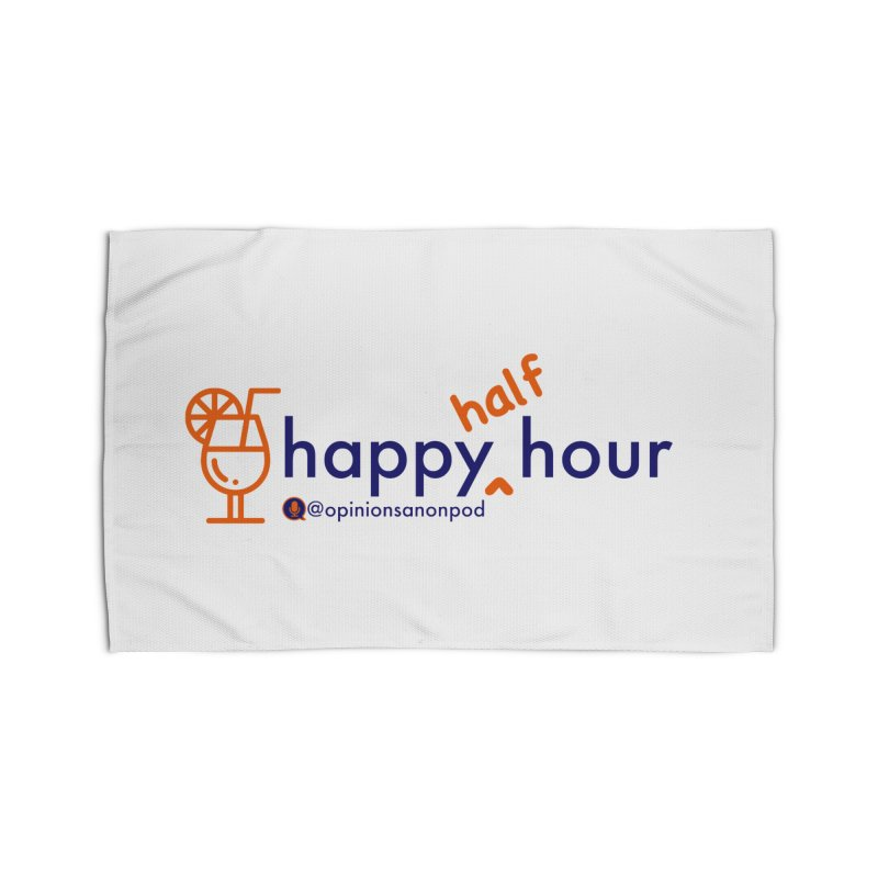 Happy Half Hour Home Rug by Opinions Anonymous