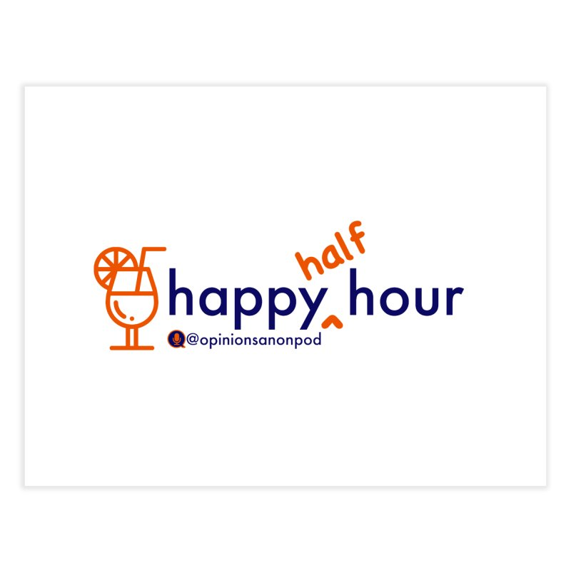 Happy Half Hour Home Fine Art Print by Opinions Anonymous