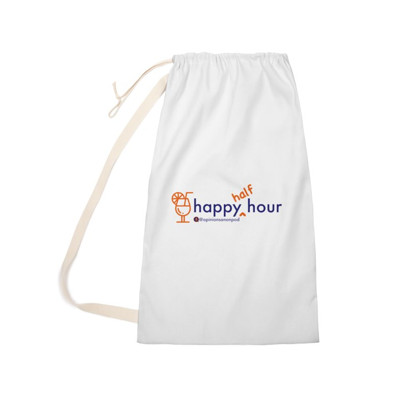Happy Half Hour Accessories Laundry Bag Bag by Opinions Anonymous