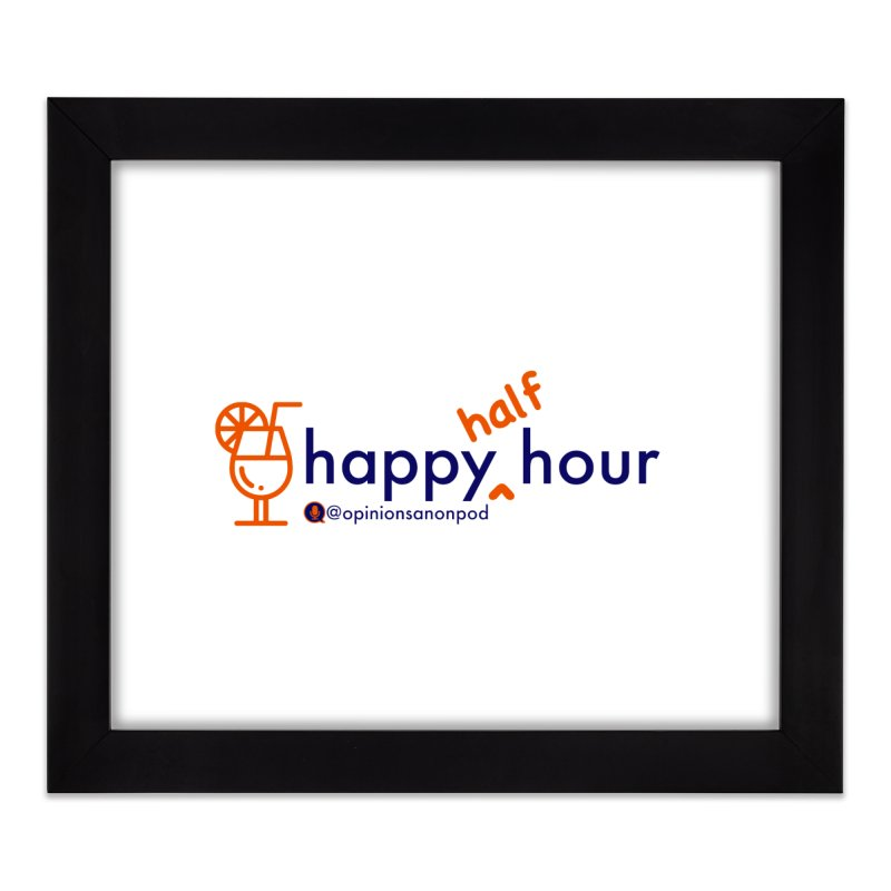 Happy Half Hour Home Framed Fine Art Print by Opinions Anonymous