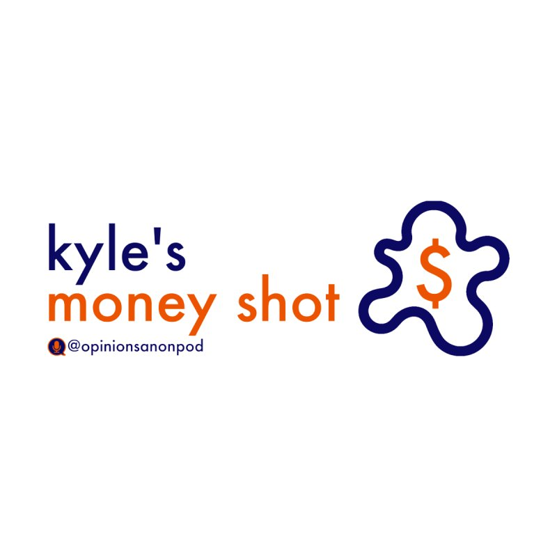 Kyle's Money Shot Accessories Sticker by Opinions Anonymous