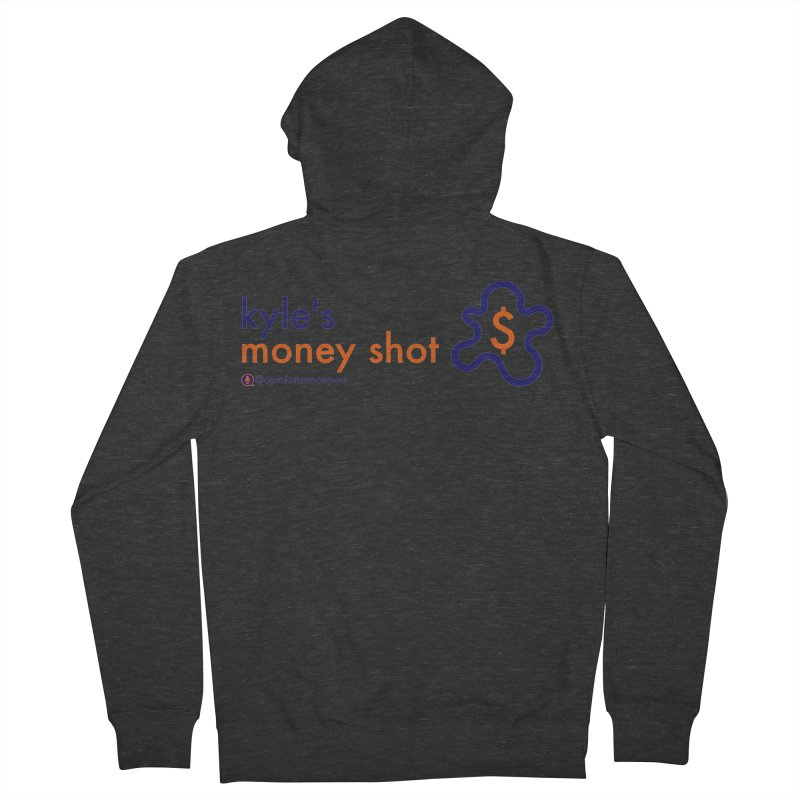 Kyle's Money Shot Women's Zip-Up Hoody by Opinions Anonymous