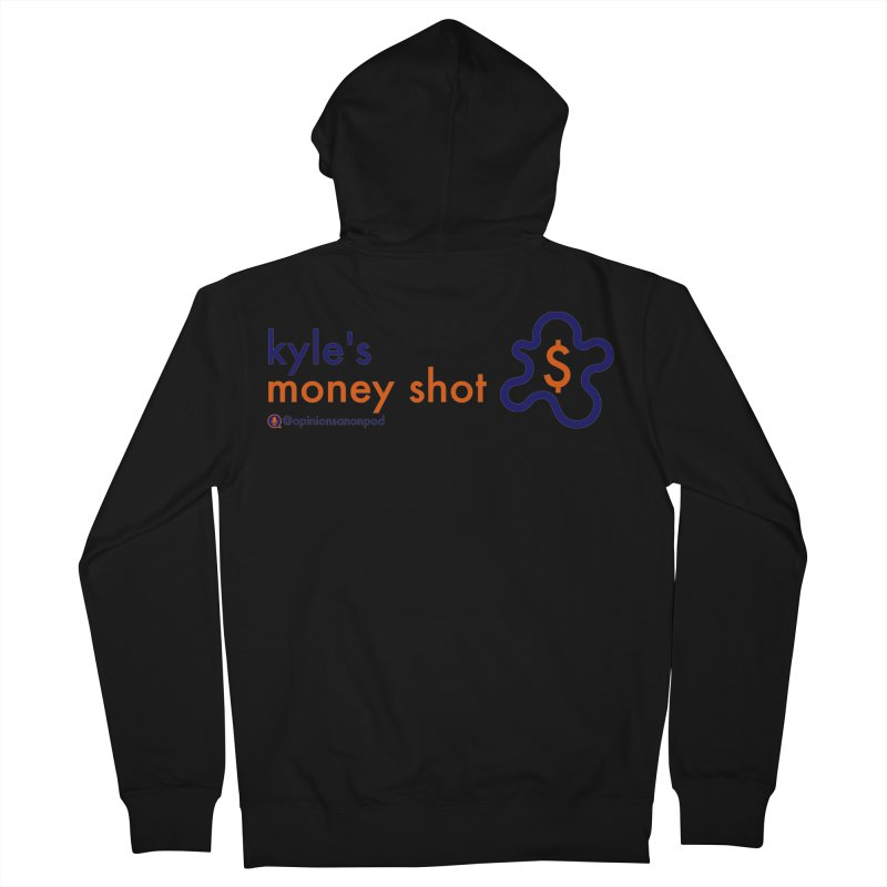Kyle's Money Shot Men's Zip-Up Hoody by Opinions Anonymous