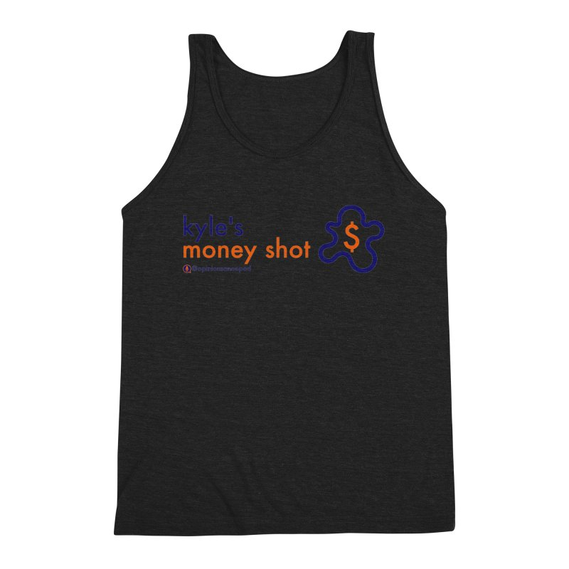 Kyle's Money Shot Men's Triblend Tank by Opinions Anonymous