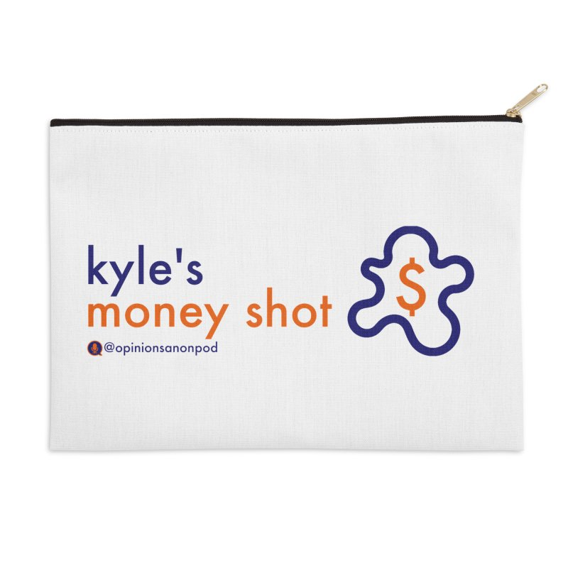 Kyle's Money Shot Accessories Zip Pouch by Opinions Anonymous