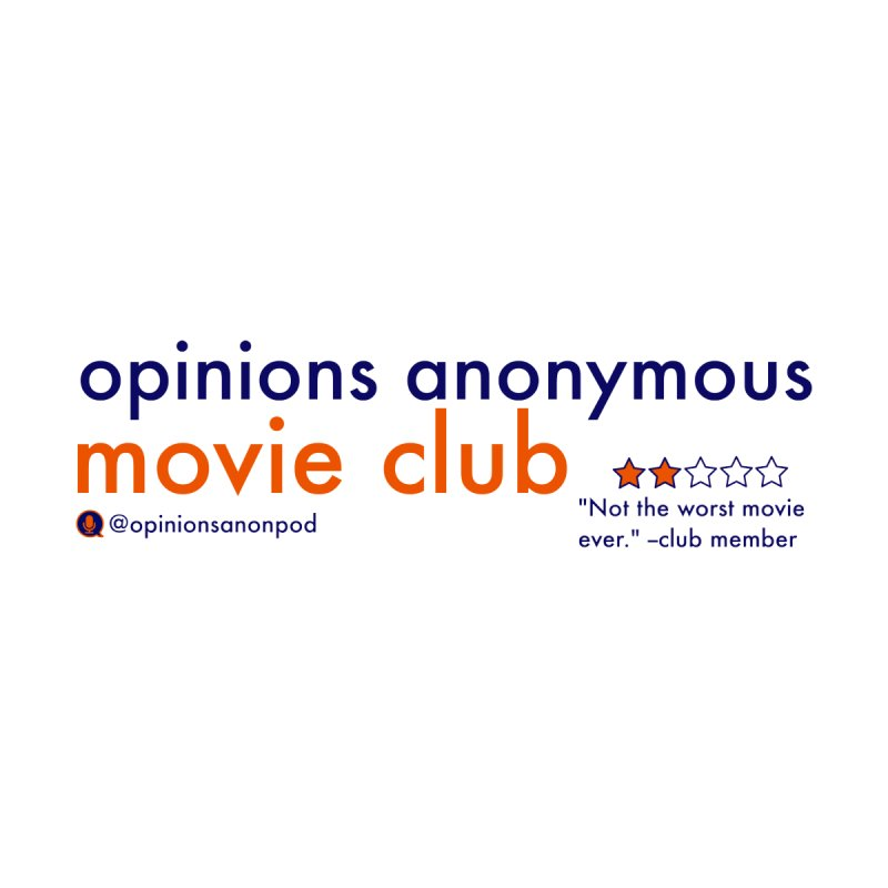 Movie Club Women's Tank by Opinions Anonymous