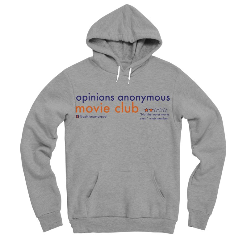 Movie Club Women's Sponge Fleece Pullover Hoody by Opinions Anonymous