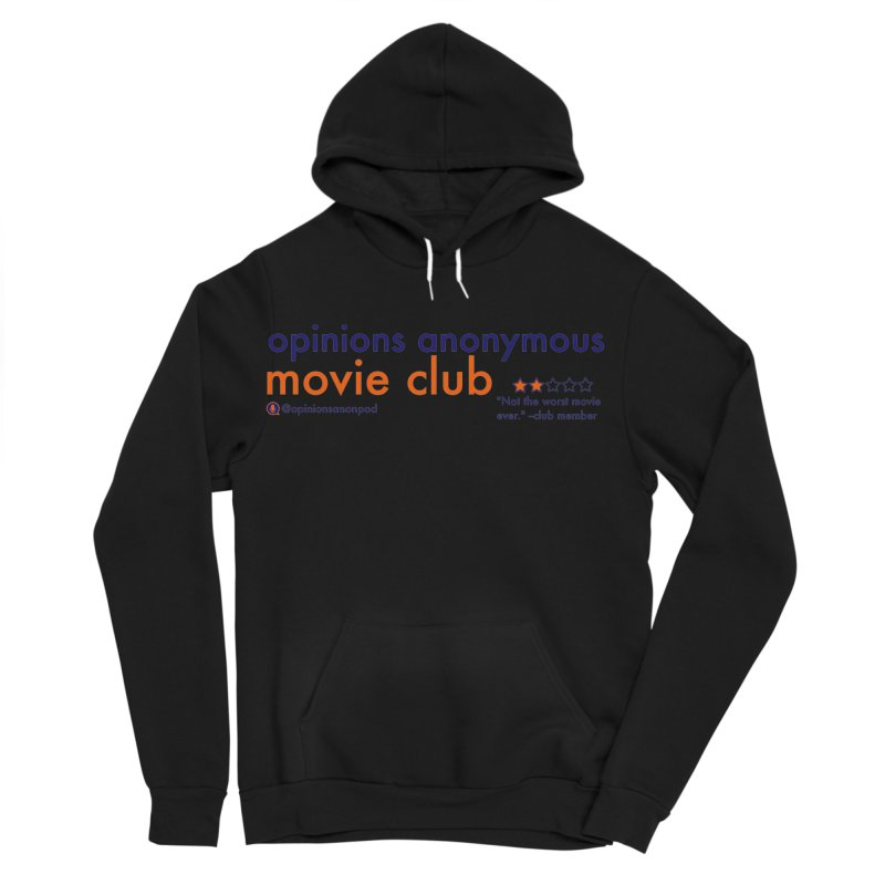 Movie Club Men's Sponge Fleece Pullover Hoody by Opinions Anonymous