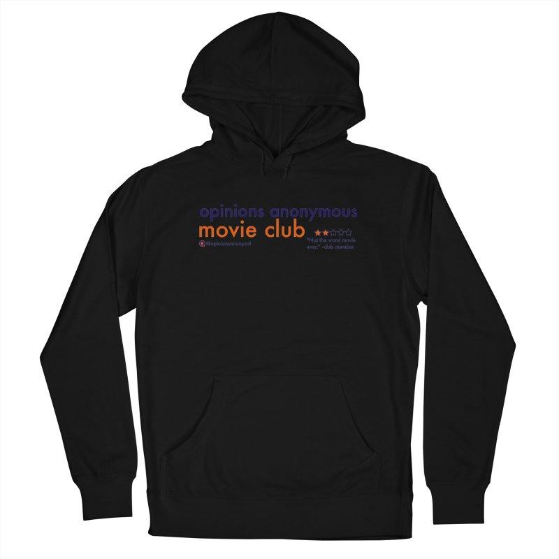 Movie Club Men's French Terry Pullover Hoody by Opinions Anonymous