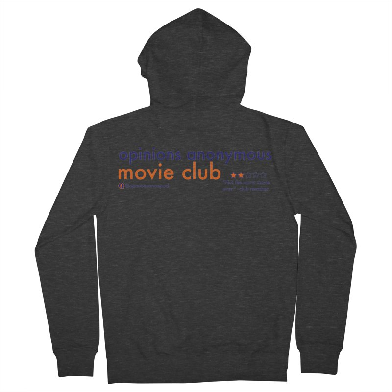 Movie Club Men's French Terry Zip-Up Hoody by Opinions Anonymous