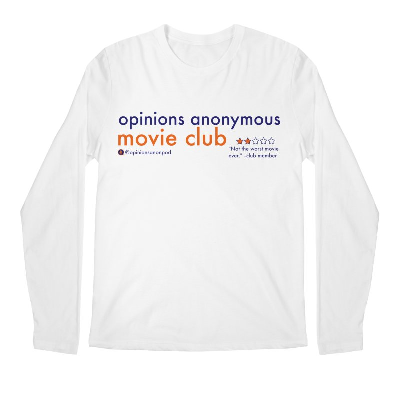 Movie Club Men's Regular Longsleeve T-Shirt by Opinions Anonymous