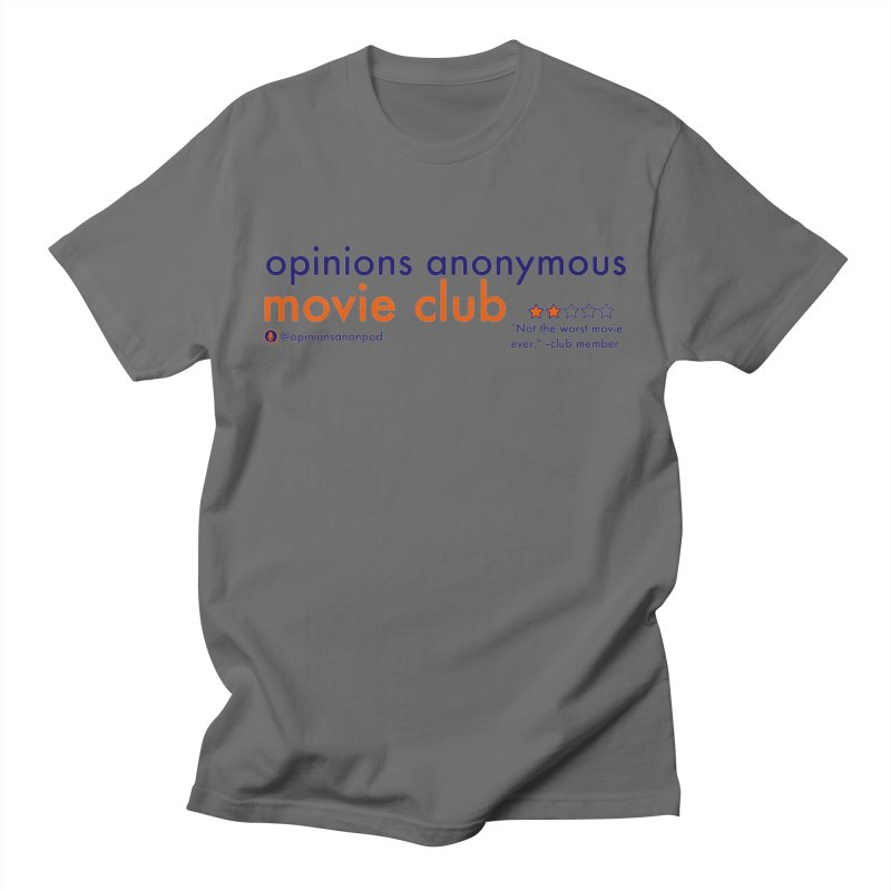 Movie Club Men's T-Shirt by Opinions Anonymous