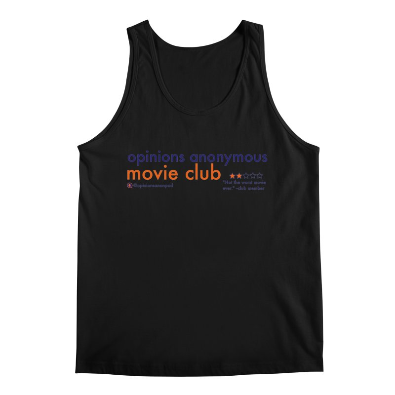Movie Club Men's Regular Tank by Opinions Anonymous
