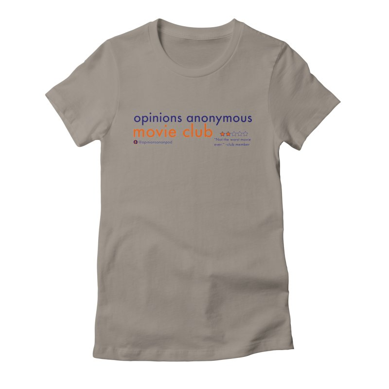 Movie Club Women's T-Shirt by Opinions Anonymous