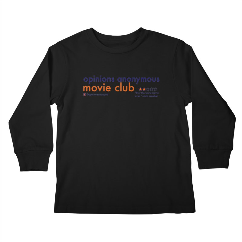 Movie Club Kids Longsleeve T-Shirt by Opinions Anonymous