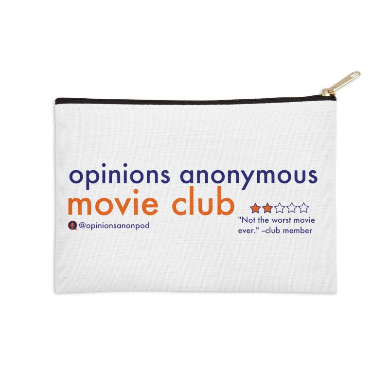 Movie Club Accessories Zip Pouch by Opinions Anonymous