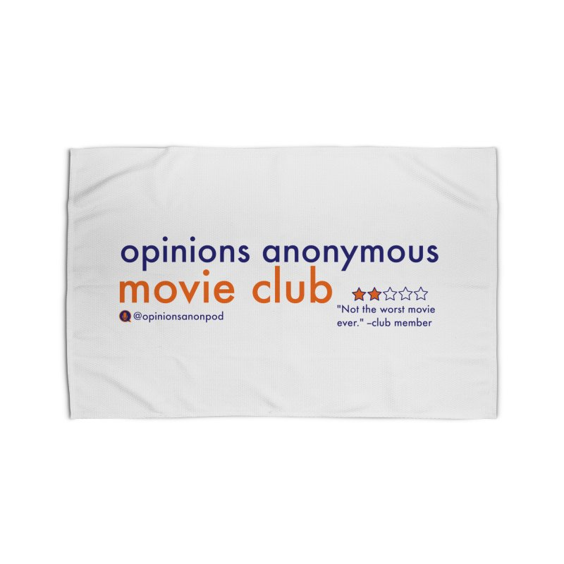 Movie Club Home Rug by Opinions Anonymous