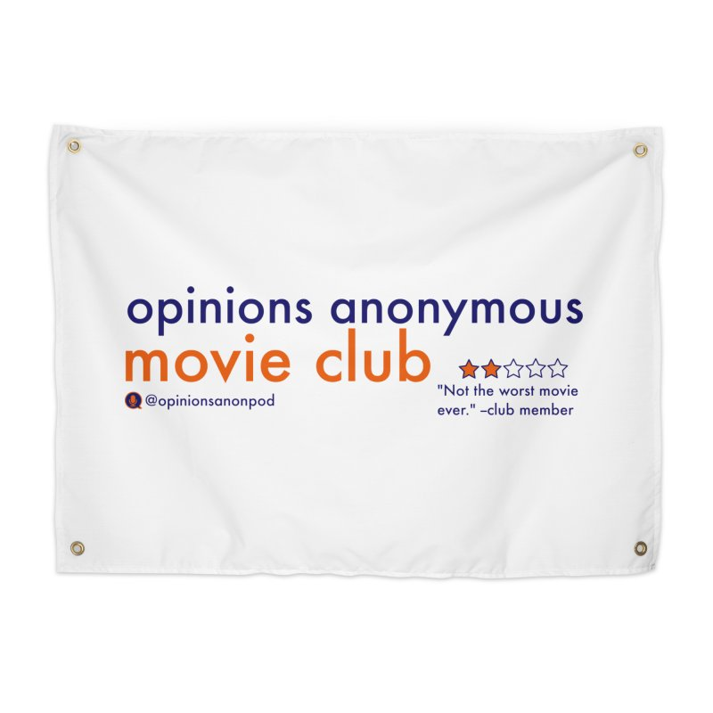 Movie Club Home Tapestry by Opinions Anonymous