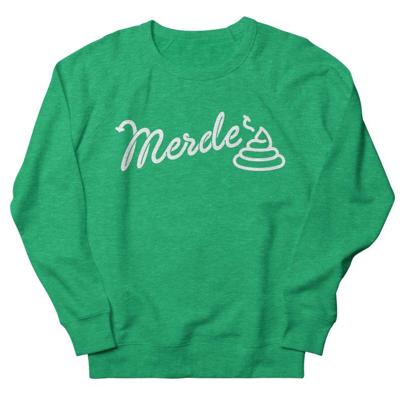 Merde Women's French Terry Sweatshirt by Opippi