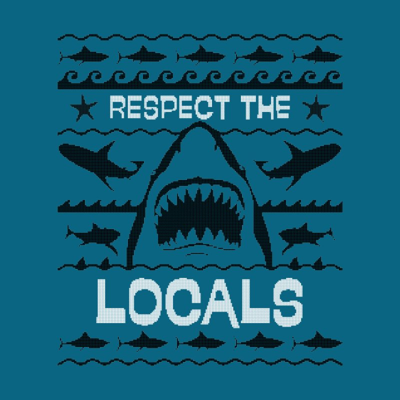 Respect locals Men's T-Shirt by Opippi