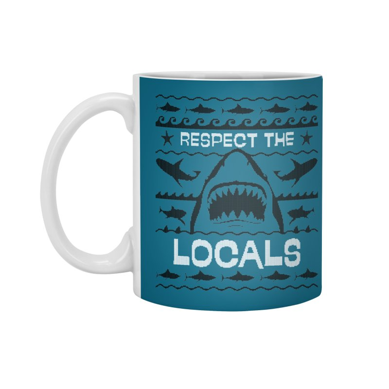 Respect locals Accessories Standard Mug by Opippi