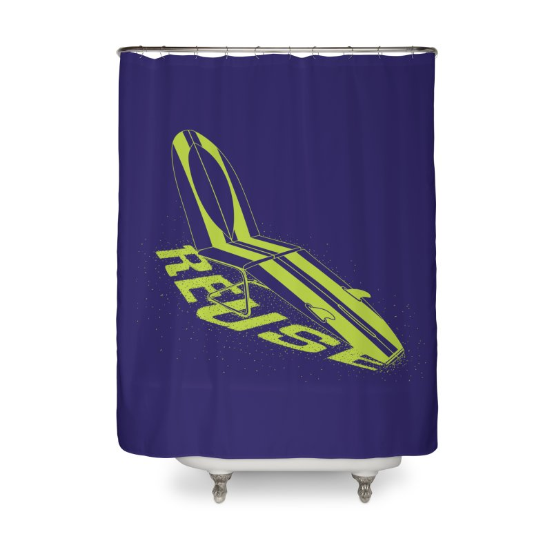 Reuse Home Shower Curtain by Opippi