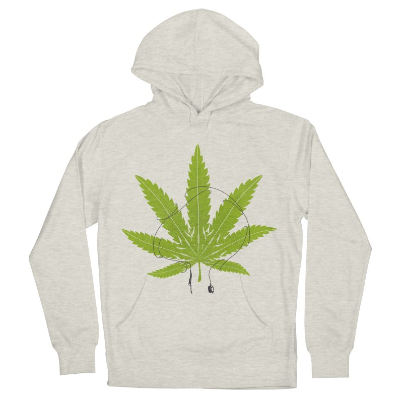 Ganjaboards Men's French Terry Pullover Hoody by Opippi