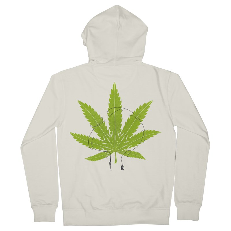 Ganjaboards Women's French Terry Zip-Up Hoody by Opippi