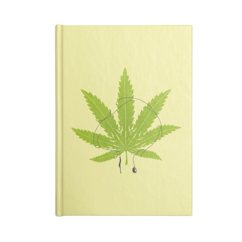 Ganjaboards Accessories Blank Journal Notebook by Opippi