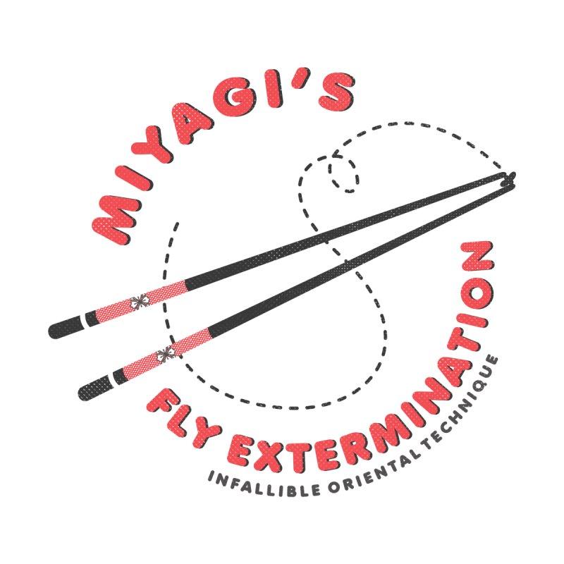 Miyagi's Fly extermination Home Blanket by Opippi