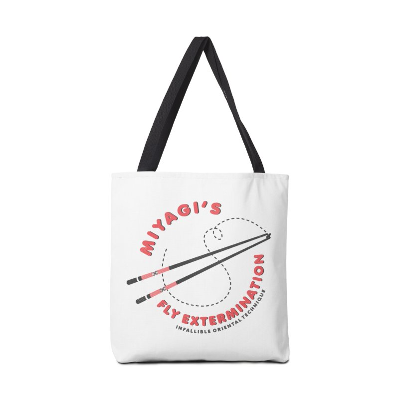 Miyagi's Fly extermination Accessories Tote Bag Bag by Opippi