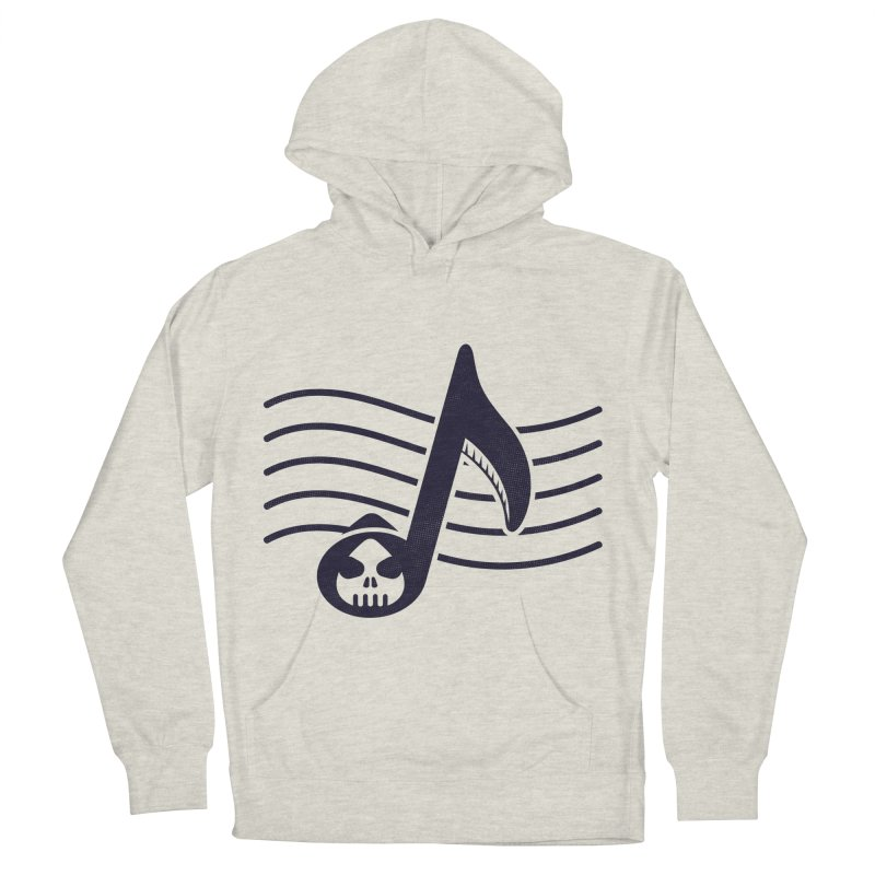 The Final Note Women's French Terry Pullover Hoody by Opippi
