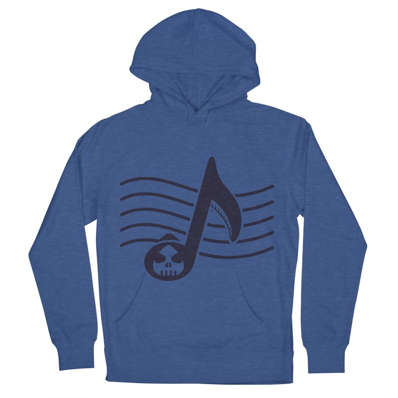The Final Note Men's French Terry Pullover Hoody by Opippi