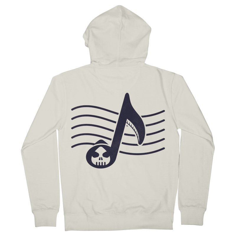 The Final Note Women's French Terry Zip-Up Hoody by Opippi