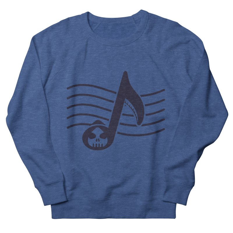 The Final Note Women's French Terry Sweatshirt by Opippi