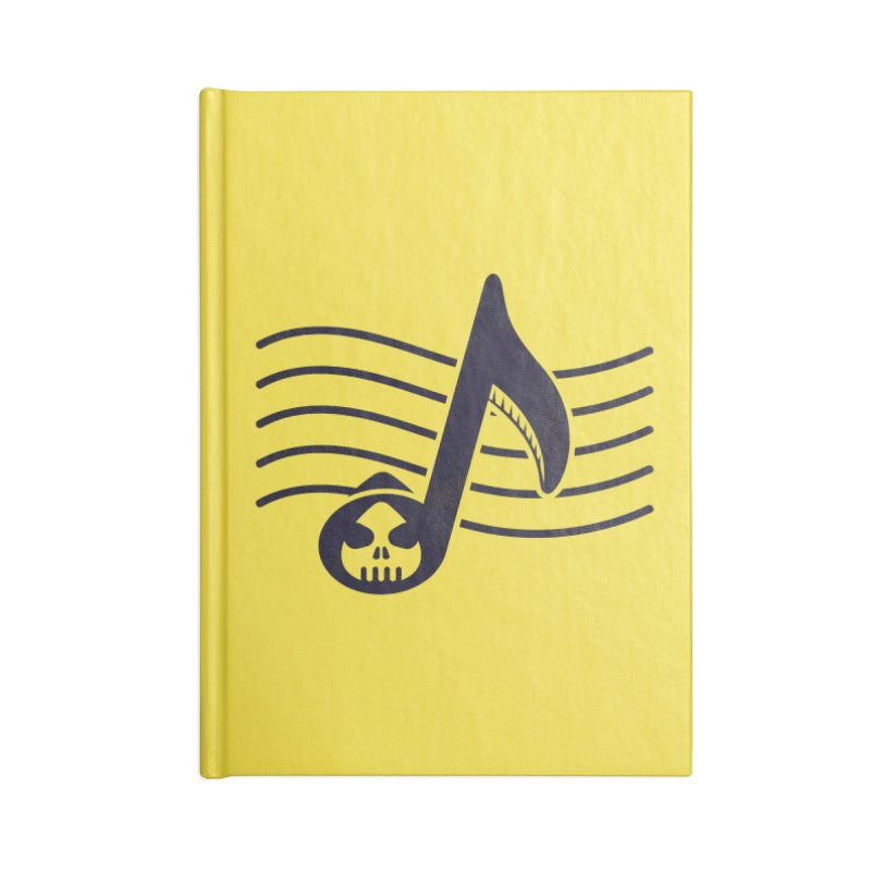 The Final Note Accessories Blank Journal Notebook by Opippi