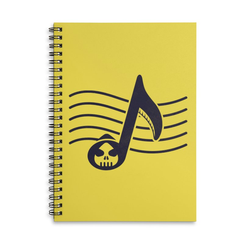 The Final Note Accessories Lined Spiral Notebook by Opippi