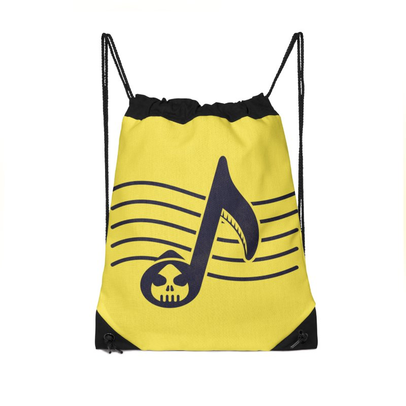 The Final Note Accessories Drawstring Bag Bag by Opippi