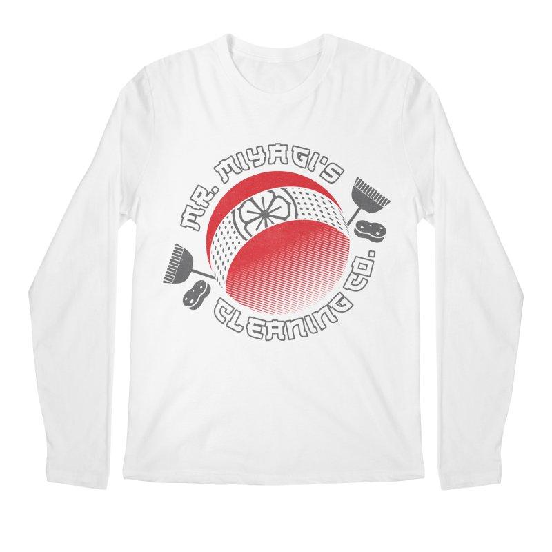 Mr. Miyagi's Cleanning Co Men's Regular Longsleeve T-Shirt by Opippi
