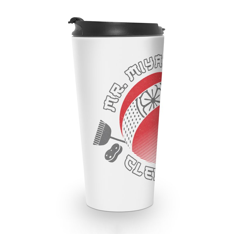 Mr. Miyagi's Cleanning Co Accessories Travel Mug by Opippi