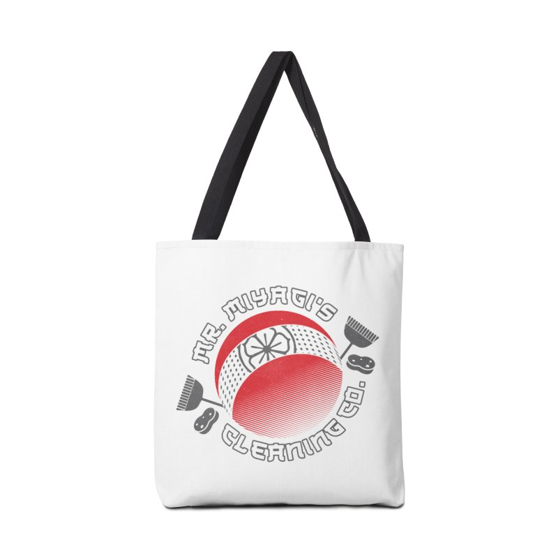 Mr. Miyagi's Cleanning Co Accessories Tote Bag Bag by Opippi