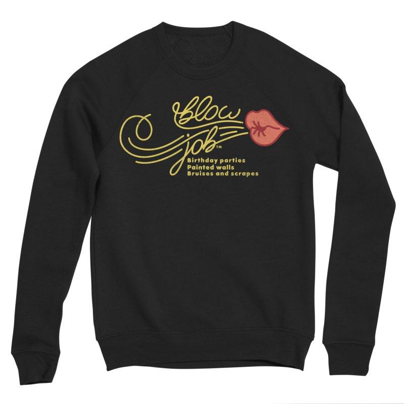 Blow Job Women's Sponge Fleece Sweatshirt by Opippi