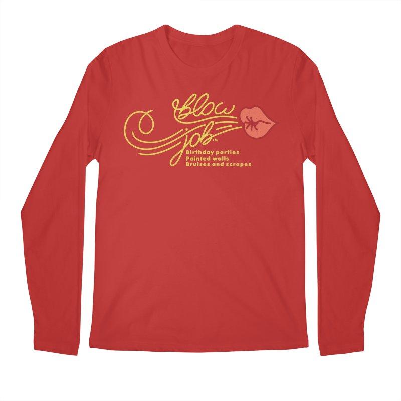 Blow Job Men's Regular Longsleeve T-Shirt by Opippi