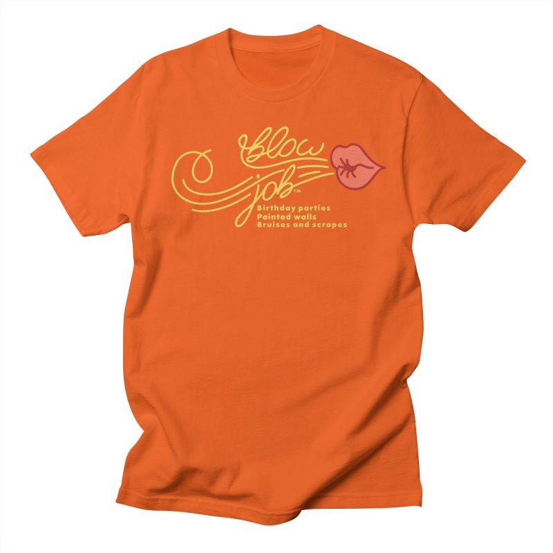 Blow Job Women's Regular Unisex T-Shirt by Opippi