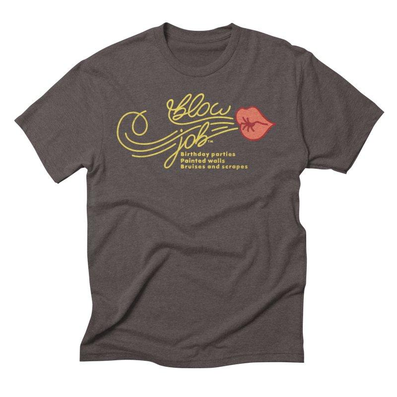 Blow Job Men's Triblend T-Shirt by Opippi